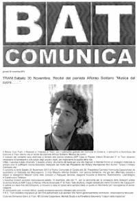 """Da """"BAT Comunica"""" - 28/11/2013"""