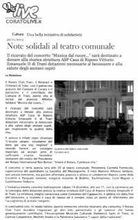 """Musica dal cuore - """"Coratolive"""""""