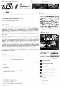 """Dalla testat online """"Traniviva"""" - 15/12/2013"""
