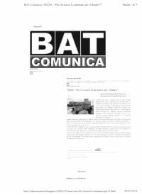 Service Campane - Bat comunica